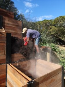 How to turn your compost