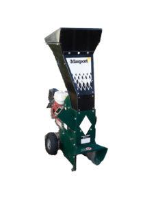 Shredder or wood chipper for composting
